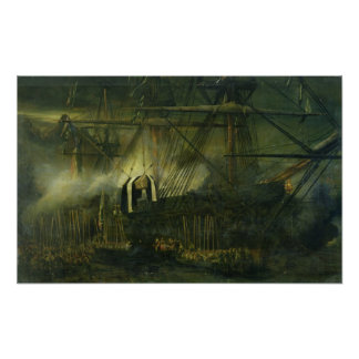 The Shipment of Napoleon's Ashes Aboard Poster