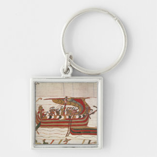 The Ships are Blown by the Winds Keychain