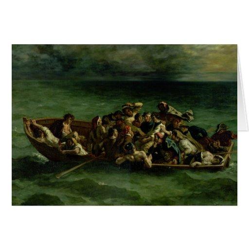 The Shipwreck of Don Juan, 1840 Card