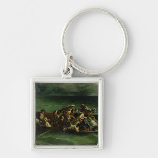 The Shipwreck of Don Juan, 1840 Keychain