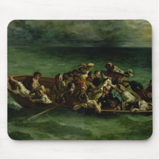 The Shipwreck of Don Juan, 1840 Mouse Pad