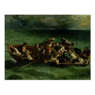 The Shipwreck of Don Juan, 1840 Postcard