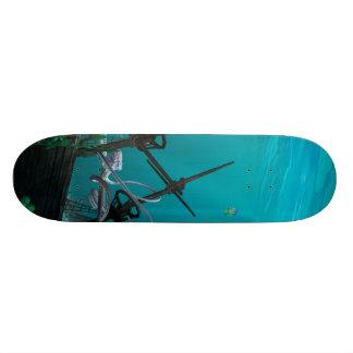 The Shipwreck Skate Board Deck