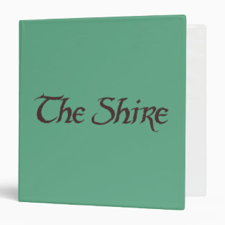 THE SHIRE™ Name Solid 3 Ring Binder