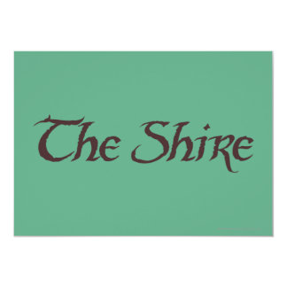 THE SHIRE™ Name Solid Card