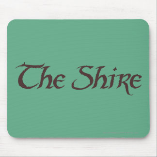 THE SHIRE™ Name Solid Mouse Pad