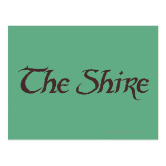 THE SHIRE™ Name Solid Postcard