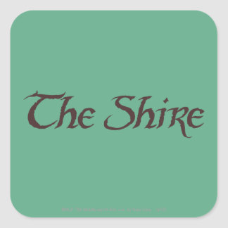 THE SHIRE™ Name Solid Square Sticker