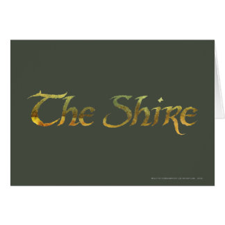 THE SHIRE™ Name Textured Card