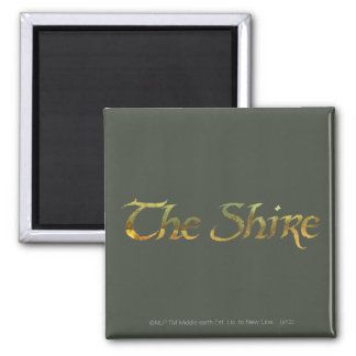 THE SHIRE™ Name Textured Refrigerator Magnet