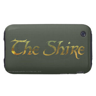 THE SHIRE™ Name Textured Tough iPhone 3 Case