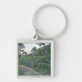 THE SHIRE™ Silver-Colored SQUARE KEYCHAIN