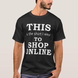 The Shirt I Wear to Shop Online (dark)