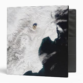 The Shiveluch Volcano in Kamchatka Krai, Russia Vinyl Binder