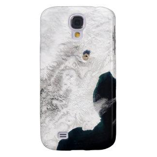 The Shiveluch Volcano in Kamchatka Krai, Russia Galaxy S4 Case