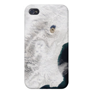 The Shiveluch Volcano in Kamchatka Krai, Russia iPhone 4/4S Covers