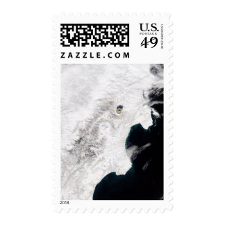 The Shiveluch Volcano in Kamchatka Krai, Russia Postage