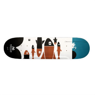 THE SHOAL SKATEBOARD DECK