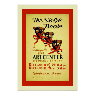 The Shoe Bears Posters