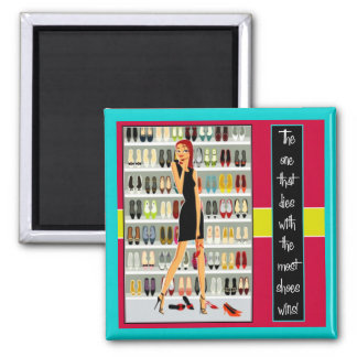 The Shoe Diva Refrigerator Magnet