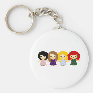 The Shoop Shoops Basic Round Button Keychain