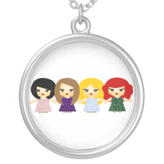 The Shoop shoops Round Pendant Necklace