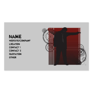 The Shooter Business Card
