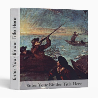 "The Shooter In The Barrel"" By Longhi Pietro Vinyl Binder"