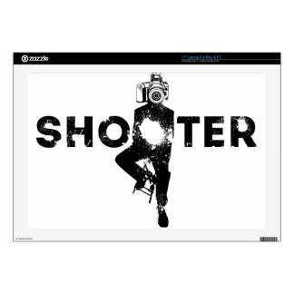 The Shooter - Photographer Decal For Laptop