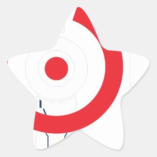 The-Shooting-Club-Logo-White.png Star Sticker