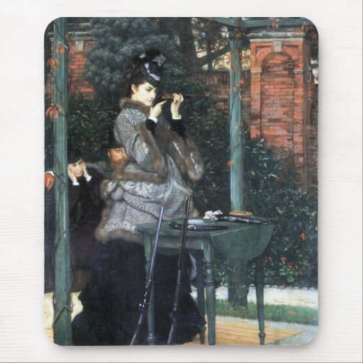 The shooting range by James Tissot Mouse Pad