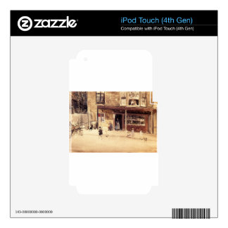 The Shop - An Exterior by James McNeill Whistler iPod Touch 4G Skin
