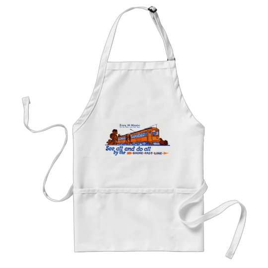 The Shore Fast Line Trolley Service Adult Apron
