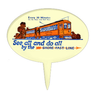 The Shore Fast Line Trolley Service Cake Pick