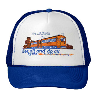 The Shore Fast Line Trolley Service Mesh Hat