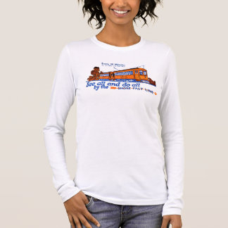 The Shore Fast Line Trolley Service Long Sleeve T-Shirt
