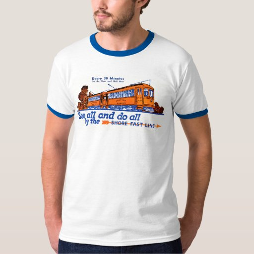 The Shore Fast Line Trolley Service Shirt