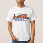 The Shore Fast Line Trolley Service T Shirt