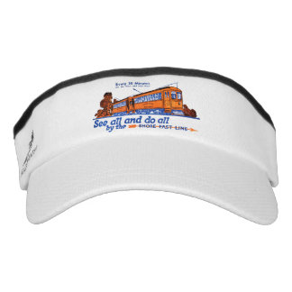 The Shore Fast Line Trolley Service Visor