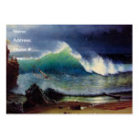 The Shore of the Turquoise Sea Business Card