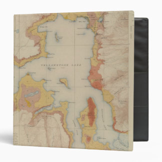 The Shores of Yellowstone Lake Binder