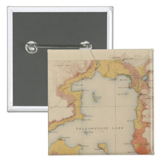 The Shores of Yellowstone Lake Pinback Button