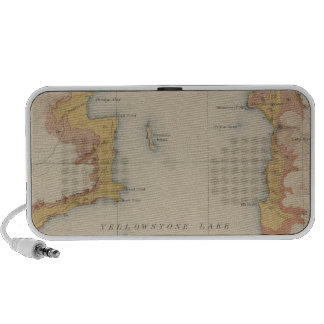 The Shores of Yellowstone Lake Portable Speakers