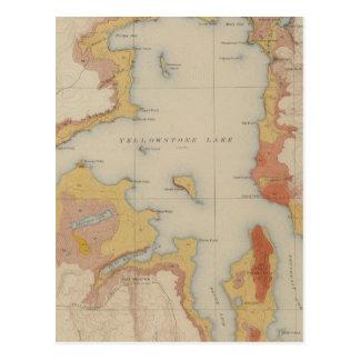 The Shores of Yellowstone Lake Postcard