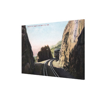 The Short Line Railroad Car Gallery Wrap Canvas