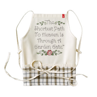 The Shortest Path to Heaven Apron
