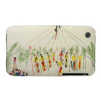 The Shoshone Sun Dance (pigment on muslin) Case-Mate iPhone 3 Case