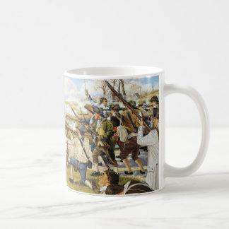 The Shot Heard Round the World Domenick D Andrea Coffee Mug