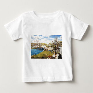 The Shot Heard 'Round the World Domenick D'Andrea Baby T-Shirt
