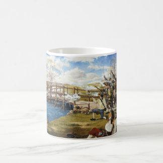 The Shot Heard 'Round the World Domenick D'Andrea Classic White Coffee Mug